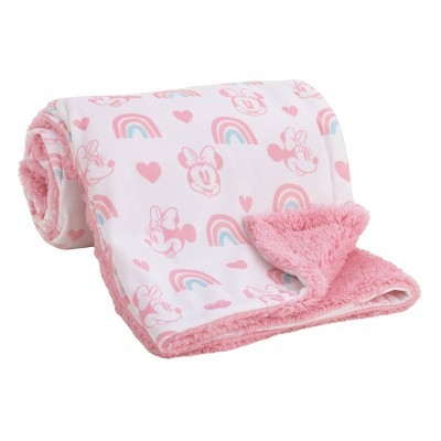 Disney Minnie Mouse Baby Blanket
