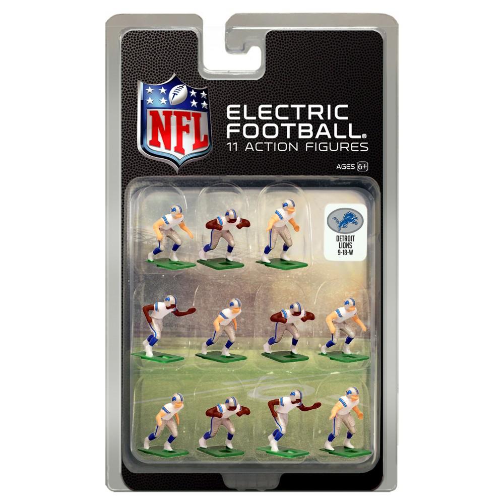 Nfl Detroit Lions Tudor Games Away Uniform Electric Football Action Figure Set