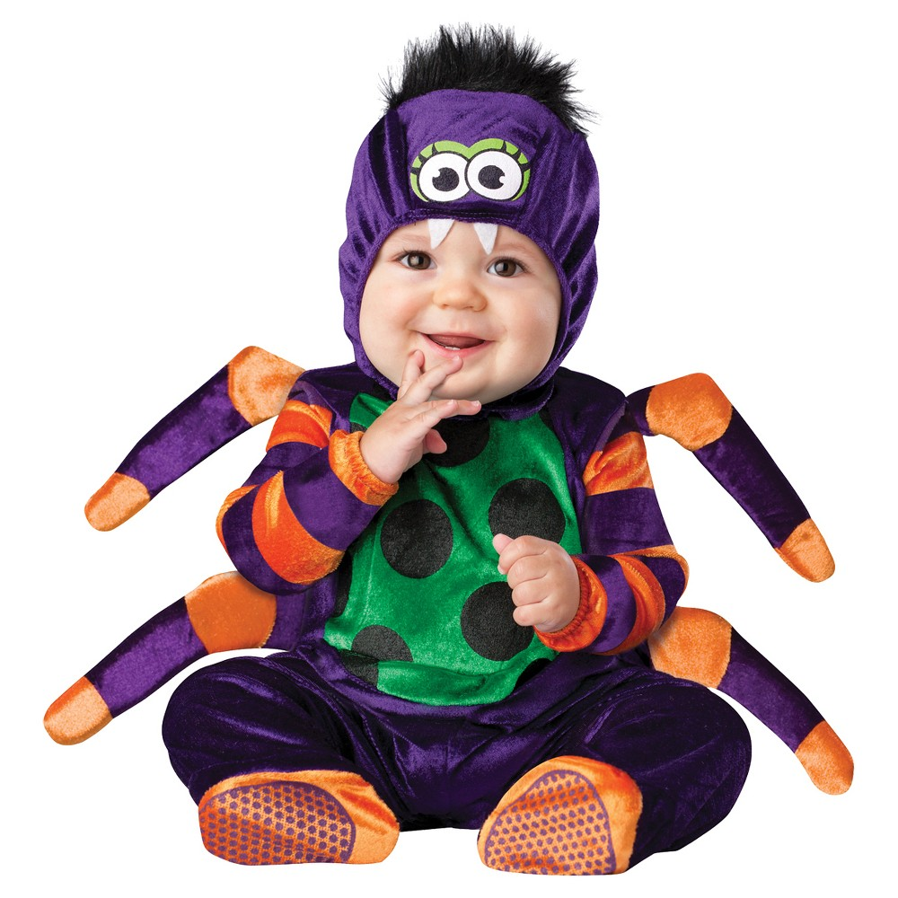 Toddler Itsy Bitsy Spider Costume 12-18 Months, Toddler Unisex, Size: 12-18M, Multicolored
