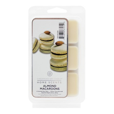 6pk Wax Melts Almond Macaroons - Home Scents by Chesapeake Bay Candle