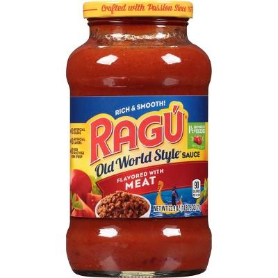 Ragu Old World Style Meat Pasta Sauce - 24oz