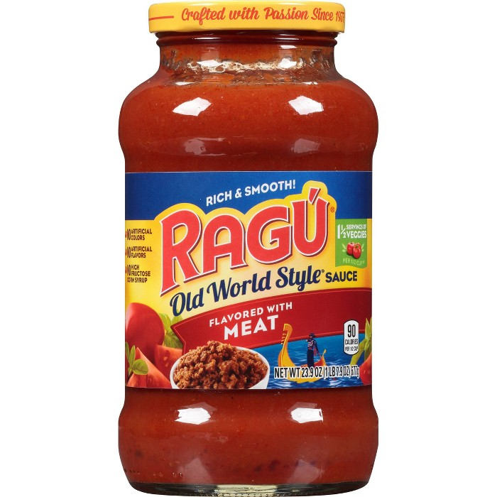RAGU Old World Style Meat Flavored Pasta Sauce - 23.9oz - image 1 of 4