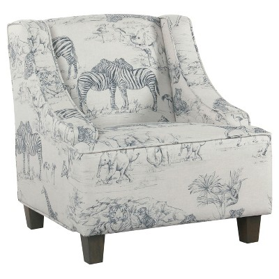 Kids' Jungle Swoop Chair - HomePop