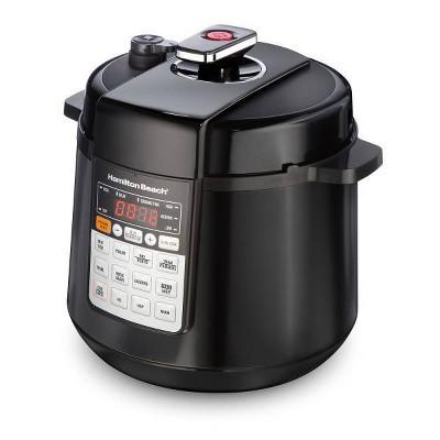 Hamilton Beach 6qt Pressure Cooker - Black