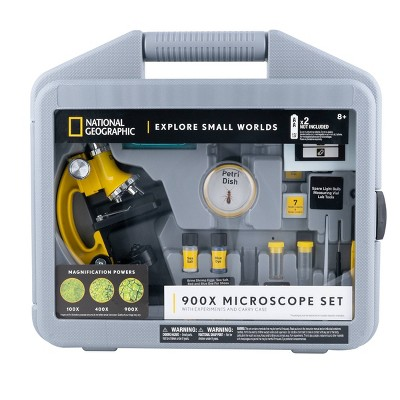 National Geographic Microscope 900x with Case