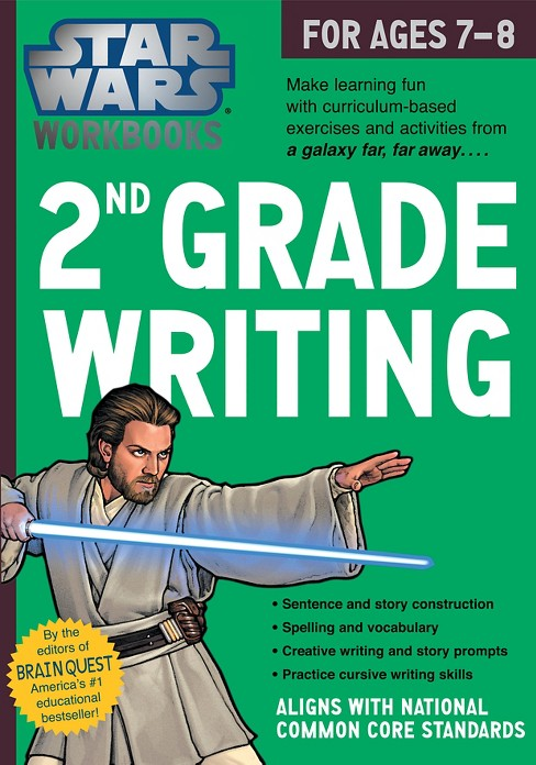 Star Wars 2nd Grade Writing, for Ages 7-8 by   Workman Publishing - image 1 of 1