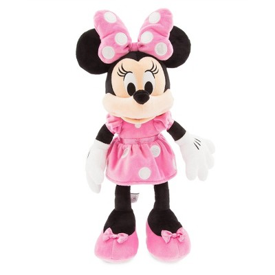 Disney Mickey Mouse & Friends Minnie Mouse Medium 18'' Plush - Pink - Disney store