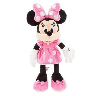 Disney Mickey Mouse & Friends Minnie Mouse Medium 18'' Plush - Pink - Disney store