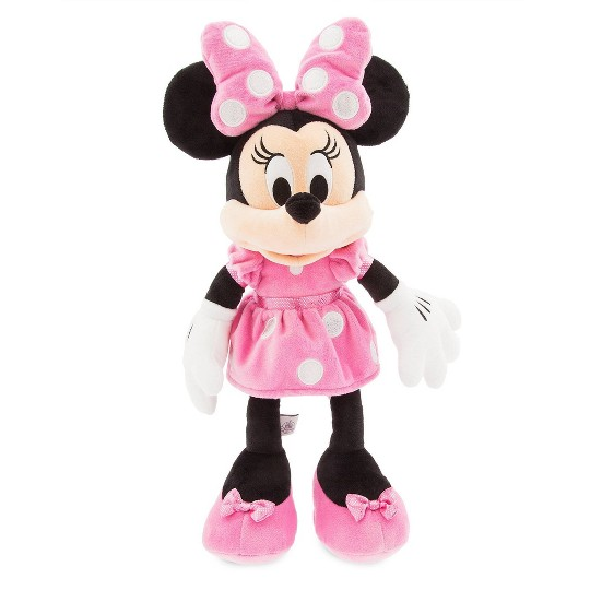 Disney Mickey Mouse & Friends Minnie Mouse Medium 18'' Plush - Pink - Disney store image number null