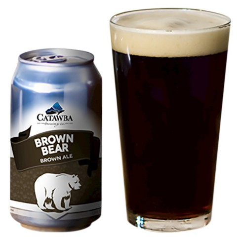 Catawba® Brown Bear Brown Ale - 6pk / 12oz Cans - image 1 of 1