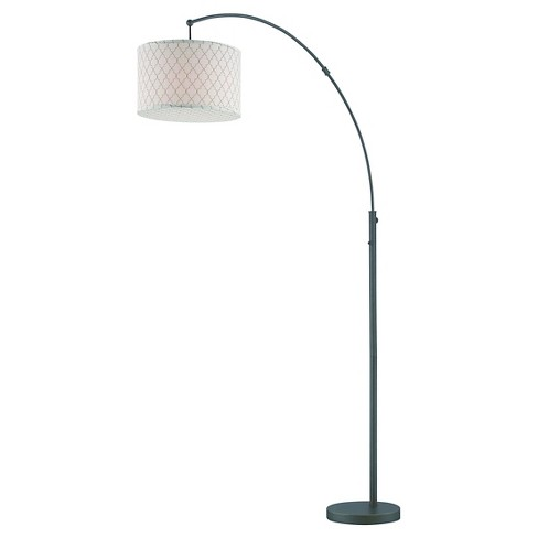 Lite Source Vasanti 1-LT Floor Lamp - Dark Bronze (Lamp Includes Energy Efficient Light Bulb) - image 1 of 1