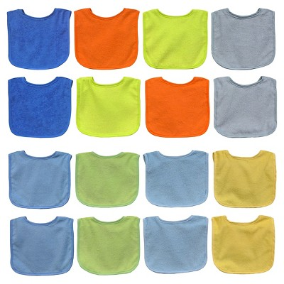 Neat Solutions Bib Set, 8PK Water Resistant, Boy