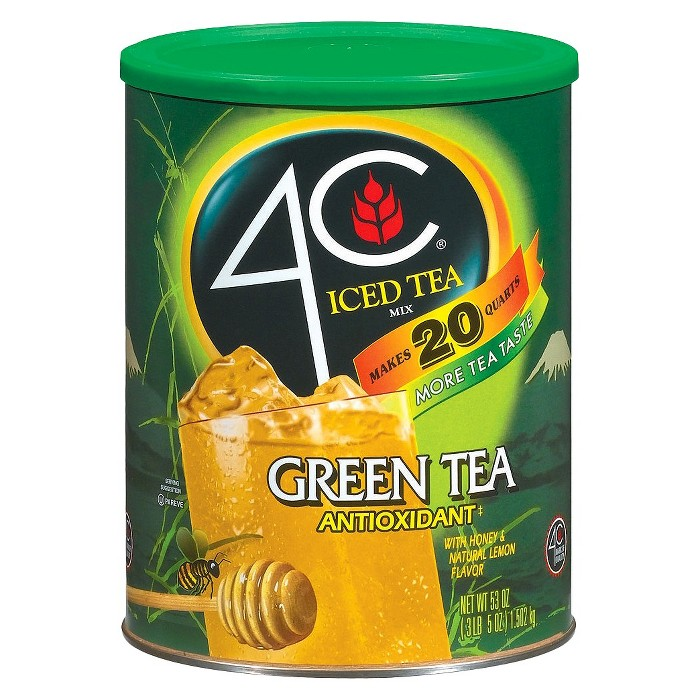 4C Antioxidant Green Tea Iced Tea Mix - 53oz - image 1 of 3
