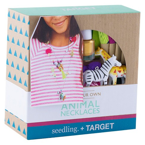 Seedling® Design Your Own Animal Necklace - image 1 of 4