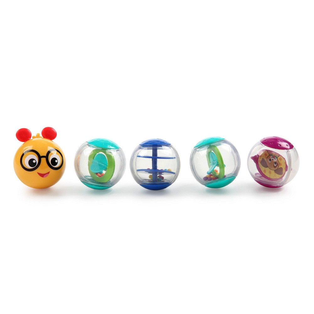 Image of Baby Einstein Roller-pillar Activity Balls Toys