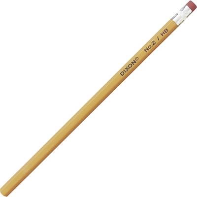 Dixon Soft Pencils No 2 Wood Graphite Core 12/BX Yellow 14402