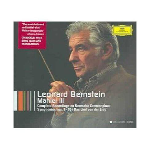 Leonard Bernstein - Mahler III - Complete Recordings on Deutsche Grammophon (CD) - image 1 of 1