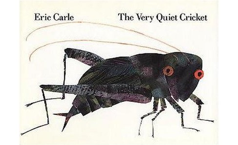 Very Quiet Cricket : A Multi-Sensory Book (Anniversary) (School And Library) (Eric Carle) - image 1 of 1