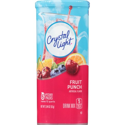 Crystal Light Fruit Punch Drink Mix - 6pk/2.04oz - image 1 of 4