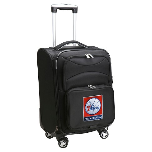 NBA® Philadelphia 76ers Mojo Spinner Carry On Suitcase - image 1 of 4