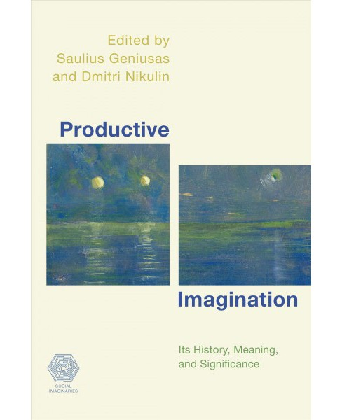 Productive Imagination : Its History, Meaning, and Significance -  (Paperback) - image 1 of 1