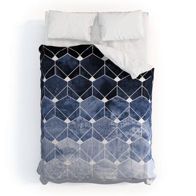 Elisabeth Fredriksson Hexagons & Diamonds 100% Cotton Comforter Set - Deny Designs