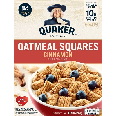 Breakfast Cereal: Oatmeal Squares
