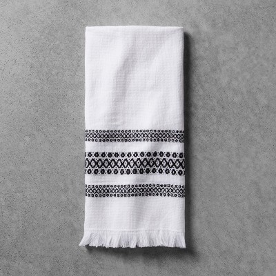 Hand Towel - Black/White - Hearth & Hand™ with Magnolia