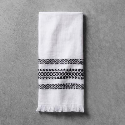 hand towel black white hearth hand with magnolia target rh target com black and white bathroom towel sets black and white bath towels australia