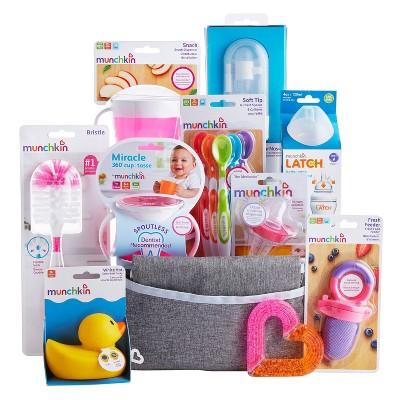 Munchkin Hello Baby Gift Basket - Pink