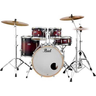 Pearl Decade Maple 5-Piece Shell Pack Gloss Deep Red Burst