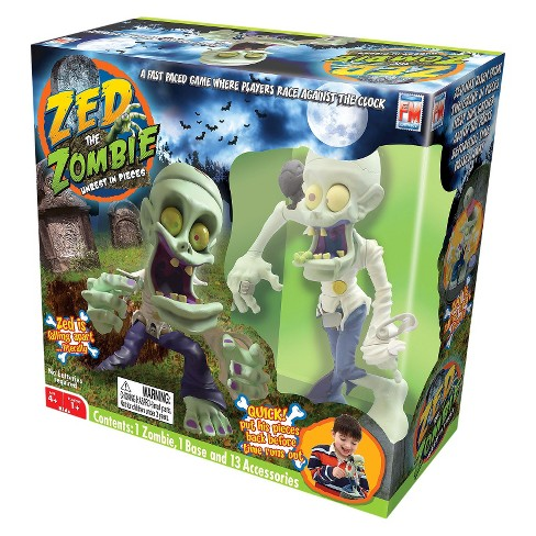 Zed the Zombie Unrest in Pieces Game - image 1 of 1