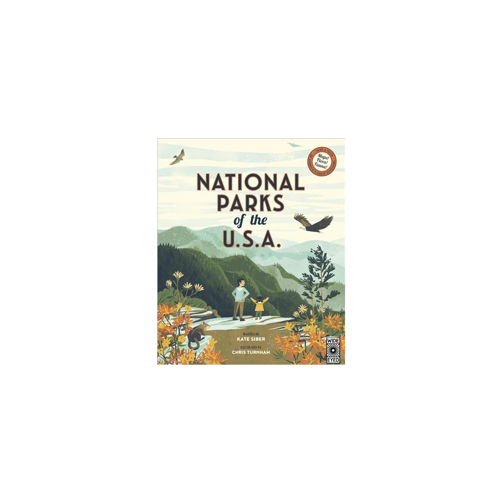 National Parks of the USA - by Kate Siber (Hardcover)