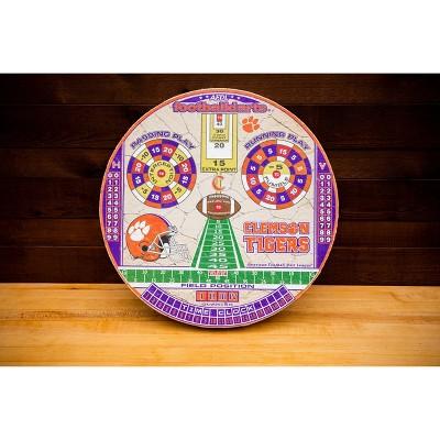 NCAA Clemson Tigers Official Football Dartboard