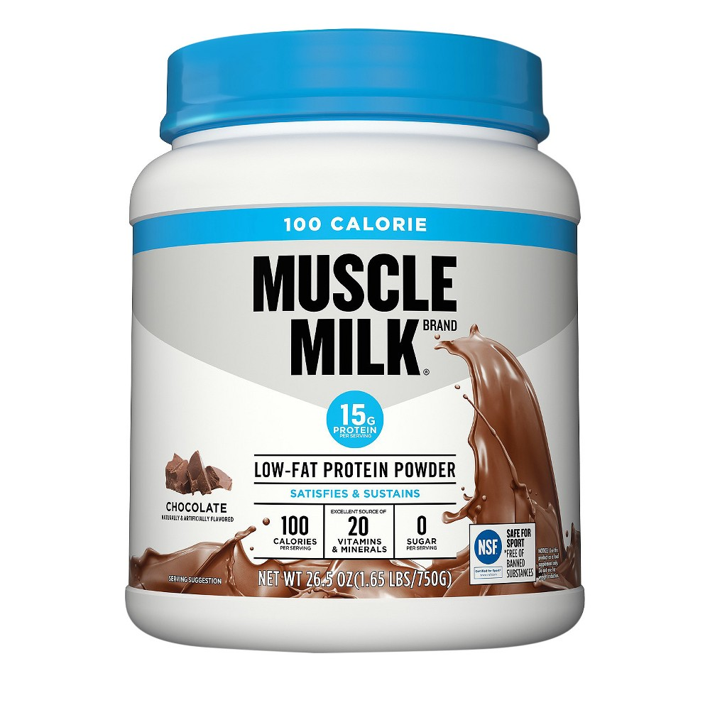 Muscle Milk 100 Calories Low-Fat Protein Powder - Chocolate - 1.65lb