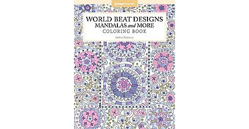 World Beat Designs Adult Coloring Book: Mandalas and More Coloring Book. - image 1 of 1