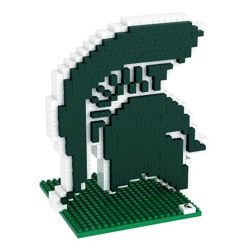 huge discount caf8b 74db7 NCAA Michigan State Spartans BRXLZ Logo 500pcs