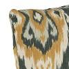 Outdoor Throw Pillow Ubud Graphite  Furniture Mfg - Skyline Furniture - image 3 of 4