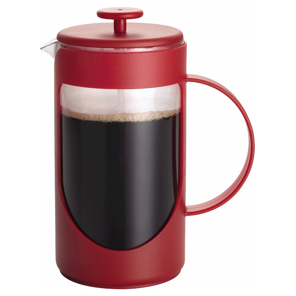 Image of Bonjour 3 Cup French Press - Red