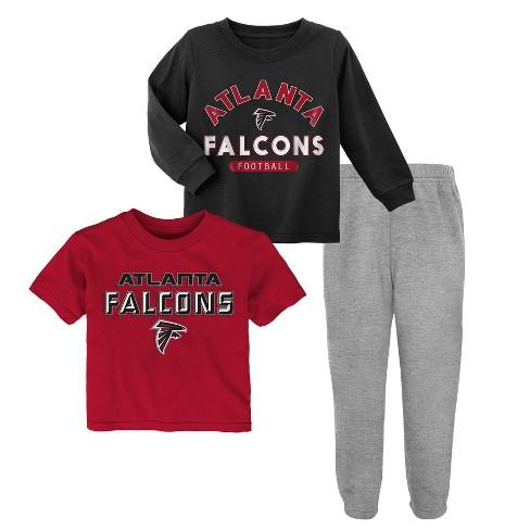 cheap for discount a4f4f afa9e NFL Atlanta Falcons Toddler Boys' Gametime Fun Shirt & Pants Set 3pk