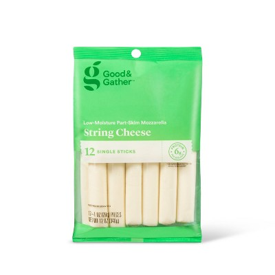 Mozzarella String Cheese - 12oz/12pk - Good & Gather™