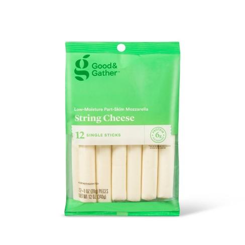 Mozzarella String Cheese - 12oz/12pk - Good & Gather™ - image 1 of 2
