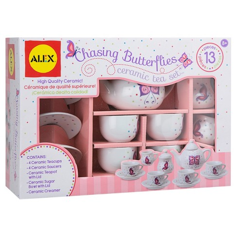 ALEX® Toys Chasing Butterflies Ceramic Tea Set - image 1 of 4