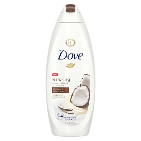 Dove Purely Pampering Coconut Butter Cocoa Butter Body Wash 24 Fl Oz Target