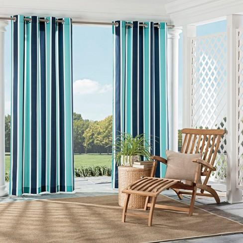 Coco Bay Indoor Outdoor Curtain Panel Parasol Target