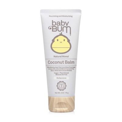 Baby Bum Natural Monoi Coconut Balm - 3oz