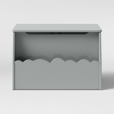 Kids Cloud Toy Storage Bin Gray - Pillowfort™