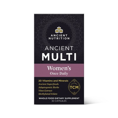 Ancient Nutrition Ancient Multi's Women's Once Daily Capsule - 30ct