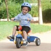 smarTrike Breeze 3 in 1 Baby Toddler Trike Tricycle Bicycle Toy with Parent Control Button, Training Wheels, Basket, and Adjustable Handle, Multicolor - image 2 of 4