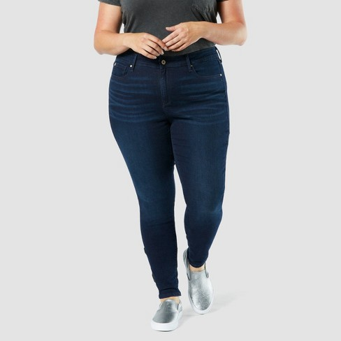 DENIZEN® from Levi's® Women's Plus Size Modern Skinny Jeans - Blue Empire  - image 1 of 3